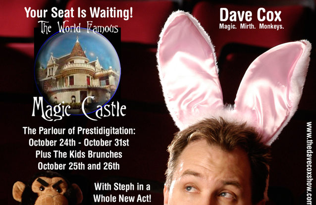 So You're Coming to the Magic Castle